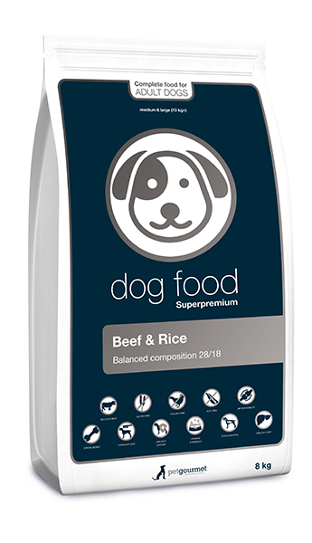 Superpremium dog food - medium&large 8 kg